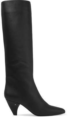 Laurence Dacade Salome Leather Knee Boots - Black