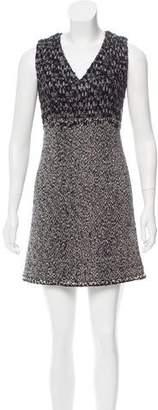 Chanel Tweed Wool-Blend Mini Dress