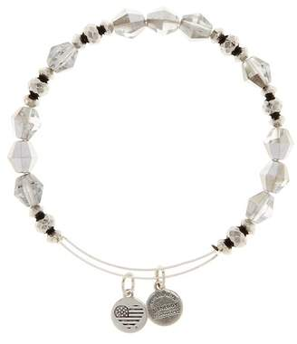 Alex and Ani Wonder Beaded Expandable Wire Bracelet - Silver Sheen