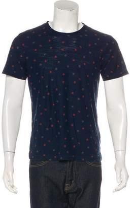 Rag & Bone Woven Patterned T-shirt