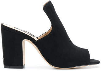 DKNY open-toe heeled mules