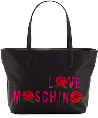 3dacdc0a7e6c Love Moschino Faux Leather Tote Bags - ShopStyle