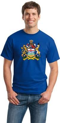 Co Ann Arbor T-shirt ALBERTA PROVINCIAL COAT OF ARMS Unisex T-shirt / Calgary, Edmonton, Flag