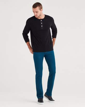 7 For All Mankind Luxe Sport Slimmy with Clean Pocket in Baltic Blue