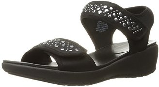 Easy Spirit Women's Willows Wedge Sandal $30.99 thestylecure.com