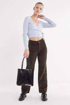 Urban Outfitters Marina Uncut Corduroy Flare Pant