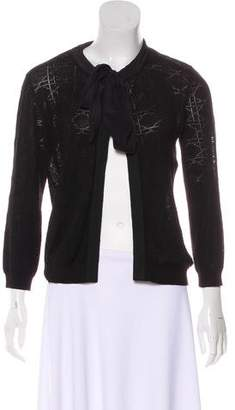 Christian Dior Silk Knit Cardigan