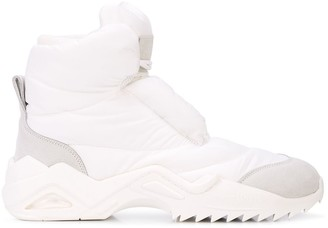 Maison Margiela puffer ankle boots