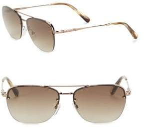 Bobbi Brown 57MM Aviator Sunglasses