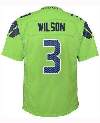 Nike Russell Wilson Seattle Seahawks Color Rush Jersey, Big Boys (8-20)