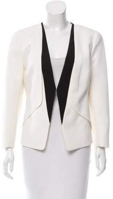 Narciso Rodriguez Colorblock Wool Blazer