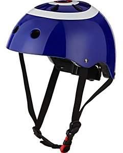 Kiddimoto Classic Target Helmet - Blue