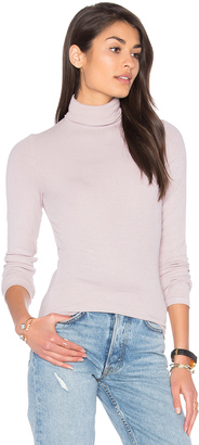 Michael Stars Long Sleeve Turtleneck $88 thestylecure.com