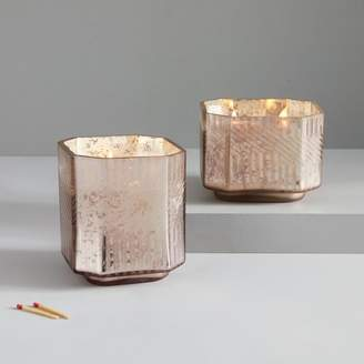 west elm Deco Mercury Candles - Cedarwood + Myrrh