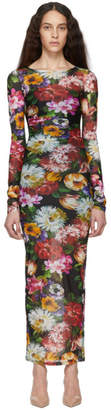 Dolce & Gabbana Multicolor Jersey Floral Dress