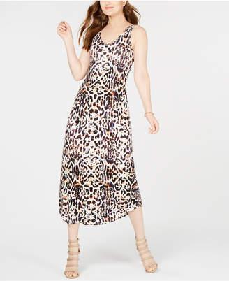 Karen Kane Leopard-Print Maxi Dress