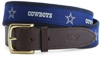 Vineyard Vines Dallas Cowboys Canvas Club Belt