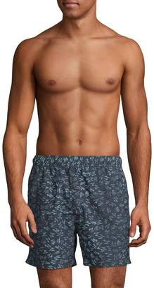 French Connection Kaau Print Swim Shorts
