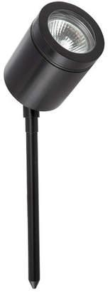 Brilliant Vista Ii One Light Adjustable Garden Spike in Black