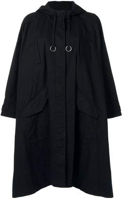 Alexander Wang oversized draped coat
