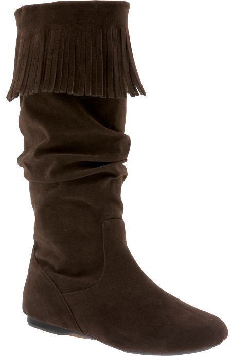 Women's Tall Faux-Suede Boots