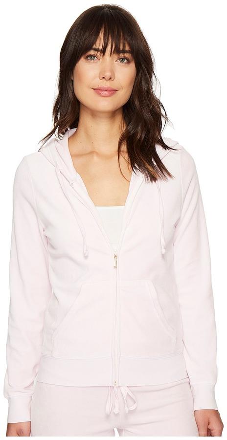 Juicy CoutureJuicy Couture - Robertson Velour Jacket Women's Coat