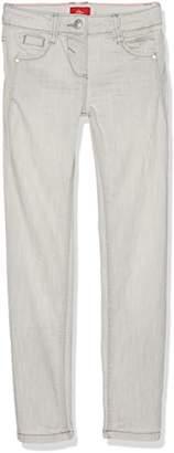 S'Oliver Girl's 66.703.71.2920 Jeans, (Grey/Black Denim Stretch 92Z6), (REG)