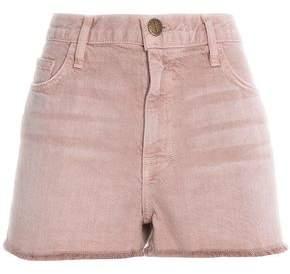 Current/Elliott Frayed Denim Shorts
