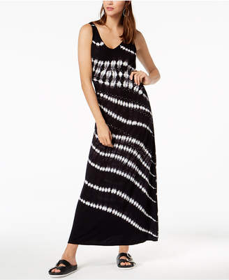 INC International Concepts I.n.c. Petite Printed Embellished Maxi Dress