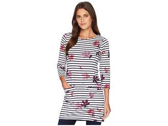 Joules Jade Jersey/Woven Mix Tunic