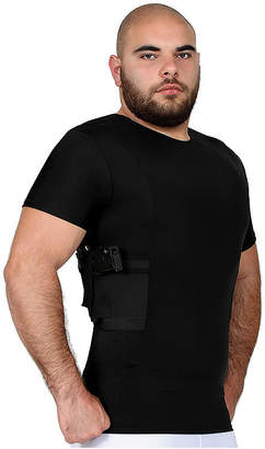 INSTA SLIM Insta Slim Men's Compression Concealment Crew Neck Shirt