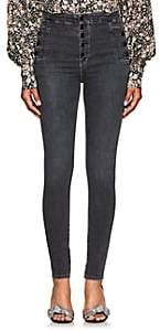 J Brand Women's Natasha Skinny Jeans - Black
