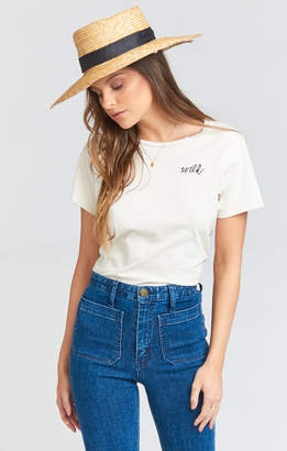 Show Me Your Mumu Wild Tee ~ Cream