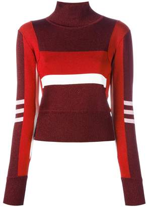 Emilio Pucci high neck cropped pullover