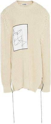Jil Sander Patch Cotton Sweater