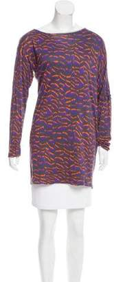 Yigal Azrouel Cut25 by Oversize Printed Tunic