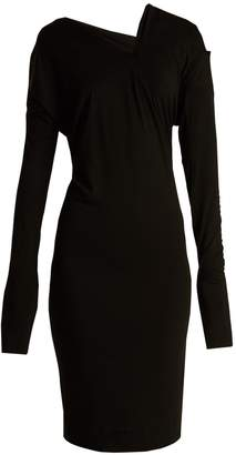 VIVIENNE WESTWOOD ANGLOMANIA Timans asymmetric jersey dress