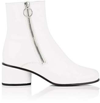 Marc Jacobs Women's Crawford Patent Leather Ankle Boots $450 thestylecure.com