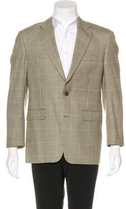 Burberry Wool Houndstooth Sport Coat