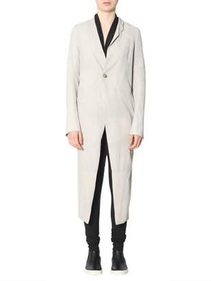 Rick Owens Suede Coat