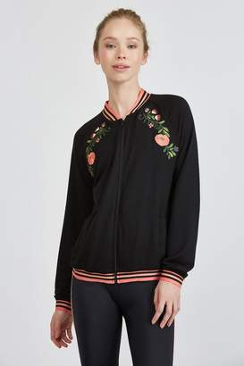 Beyond Yoga BEST BUDS EMBROIDERED JACKET