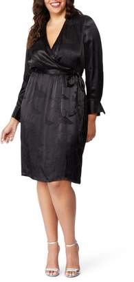 Wilson Rebel X Angels Jacquard Faux Wrap Dress