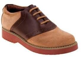 Boy's Saddle Leather Oxfords