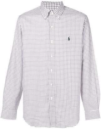 Polo Ralph Lauren button down checked shirt