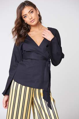 Na Kd Trend Wrap Kimono Blouse