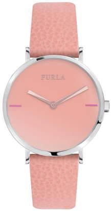 e2209b6a49 Furla Women Giada White Dial Calfskin Leather Watch