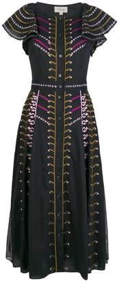 Temperley London Expedition ruffle dress