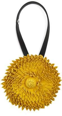 Loewe X William Morris Calendula flower bag charm