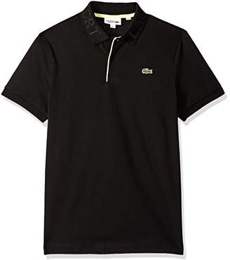 Lacoste Men's Short Sleeve Super Light Collar Polo
