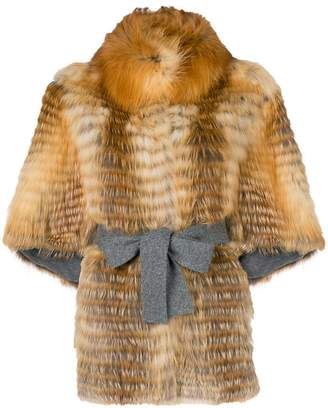 Liska fox fur jacket